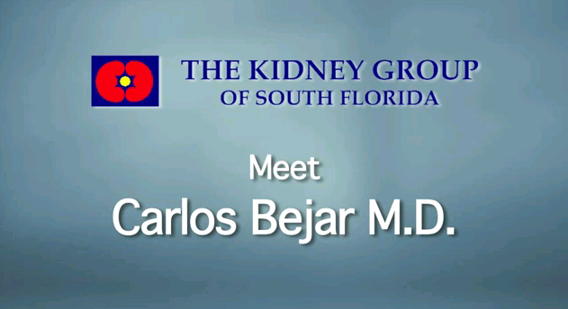 "Dr. Bejar completed his medical training and         Fellowship at the Cleveland Clinic Ohio and is a former Director         of Nephrology at the Cleveland Clinic Florida. He is Board         Certified in both Internal Medicine and Nephrology. Dr. Bejar's         areas of interest include diabetic nephropathy and kidney         disease in autoimmune disorders. He also completed a special         Fellowship in renal stone management and has been honored with         the ""Top Doc"" award for many years. This year, Dr. Bejar was         recognized as a ""Best Doctor"" by both the New York Times and U.         S. News and World Report. He was also named as a ""Top         Nephrologist"" in Boca Raton. Dr. Bejar is on the faculty of Nova         Southeastern University School of Medicine where he lectures         students in Nephrology and also monitors residents as well. Dr.         Bejar is the Vice Chief of Staff at Imperial Point Medical         Center, managing this busy department as the hospital undergoes         tremendous expansion. He was previously Chairman of Credentials         (for which he was honored for his service) and Vice Chief of         Medicine at IPMC. He continues to lecture nationally,         particularly on the topic of Refractory Hypertension and         Pharmacology as it pertains to hypertension. Dr. Carlos Bejar is         honored by the North Broward Hospital districtDr. Bejar is         recognized by The American Board of Medical Specialties (ABMS),         a non-profit organization, which assists 24 approved medical         specialty boards in the development and use of standards in the         ongoing evaluation and certification of physicians. ABMS,         recognized as the ""gold standard"" in physician certification,         believes higher standards for physicians means better care for         patients. Dr. Bejar is a KOL (Key Opinion Leader) for a         pharmaceutical company and is an active lecturer. He also sits         on the Medical Review Board for chronic kidney disease patients         in the State of Florida Network 7."